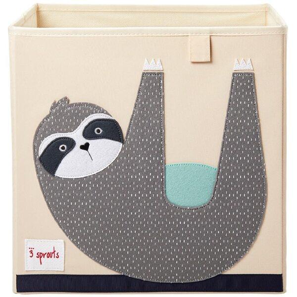 3 Sprouts Storage Box Mantu kaste Sloth