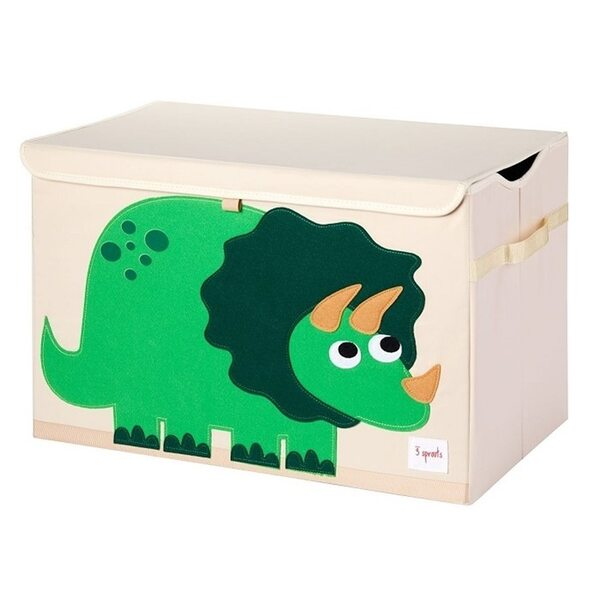 3 Sprouts Toy Chest Rotaļlietu kaste Dinosaur