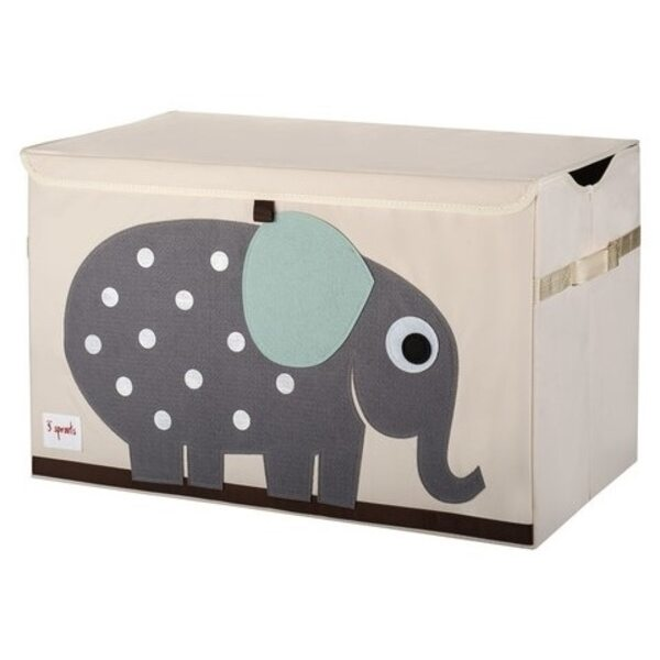 3 Sprouts Toy Chest Rotaļlietu kaste Elephant