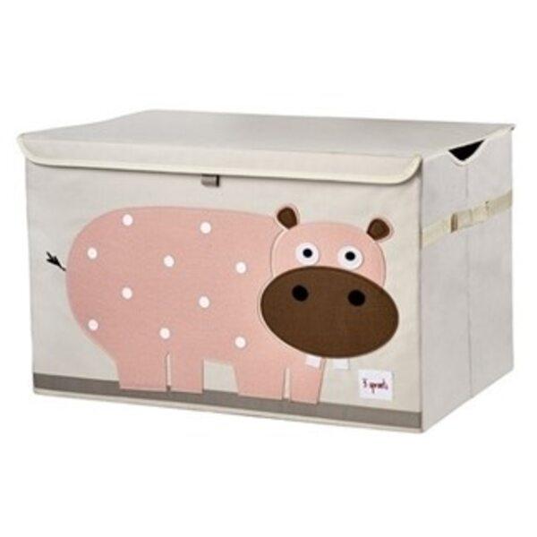 3 Sprouts Toy Chest Rotaļlietu kaste Hippo