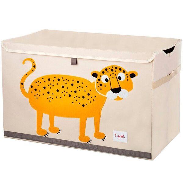 3 Sprouts Toy Chest Rotaļlietu kaste Leopard