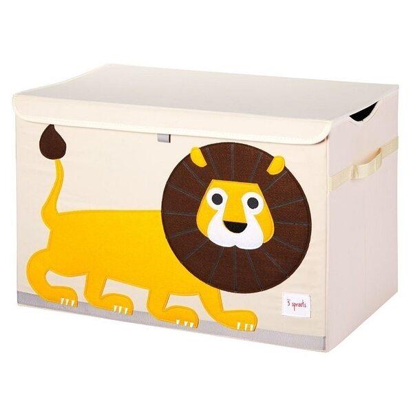 3 Sprouts Toy Chest Rotaļlietu kaste Lion