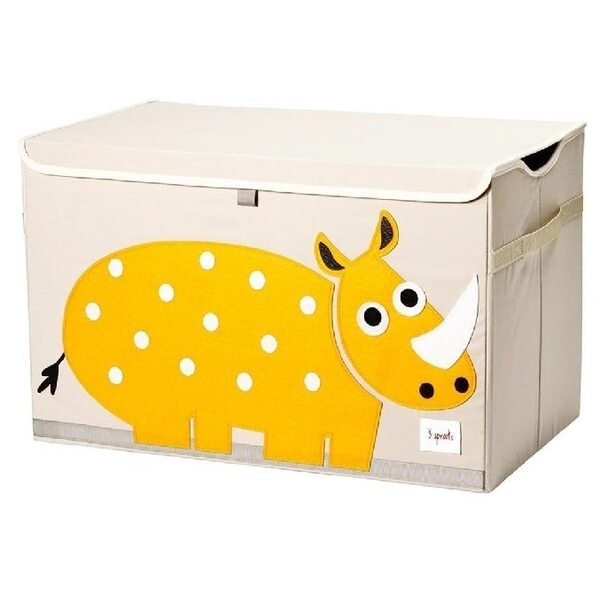3 Sprouts Toy Chest Rotaļlietu kaste Rhino