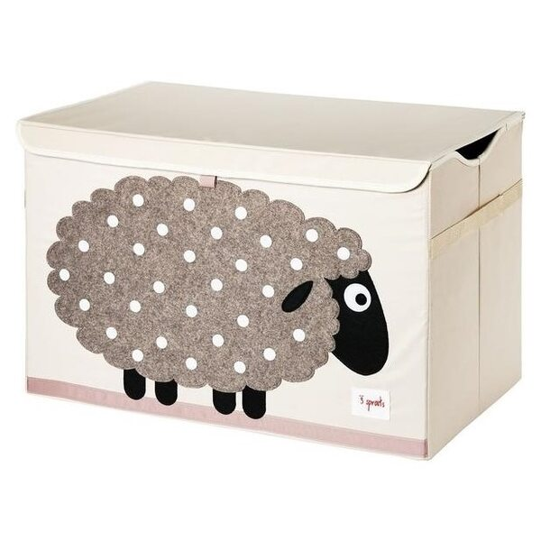 3 Sprouts Toy Chest Rotaļlietu kaste Sheep