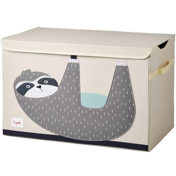 3 Sprouts Toy Chest Rotaļlietu kaste Sloth