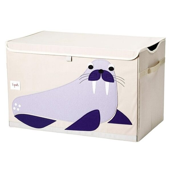 3 Sprouts Toy Chest Rotaļlietu kaste Walrus
