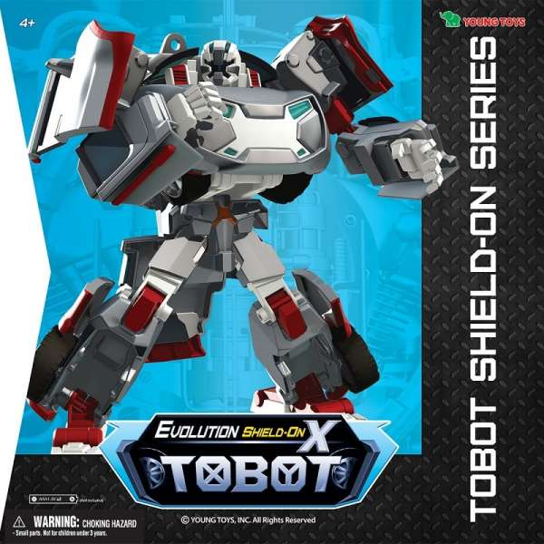 Tobot Evolution X Shield-on Transformers 301009
