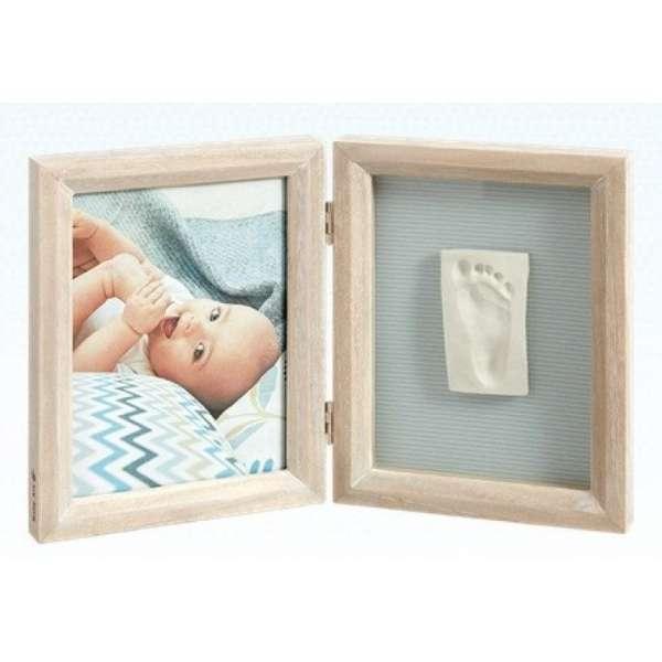 Baby Art Print Frame My baby Touch komplekts mazuļa pēdiņu/rociņu nospieduma izveidošanai, Stormy 34120170