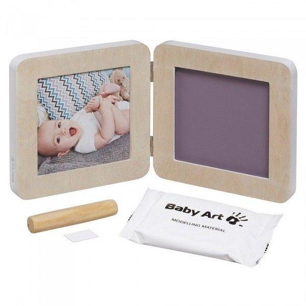 Baby Art Print Frame My baby Touch komplekts mazuļa pēdiņu/rociņu nospieduma izveidošanai, Wood, 3601091300