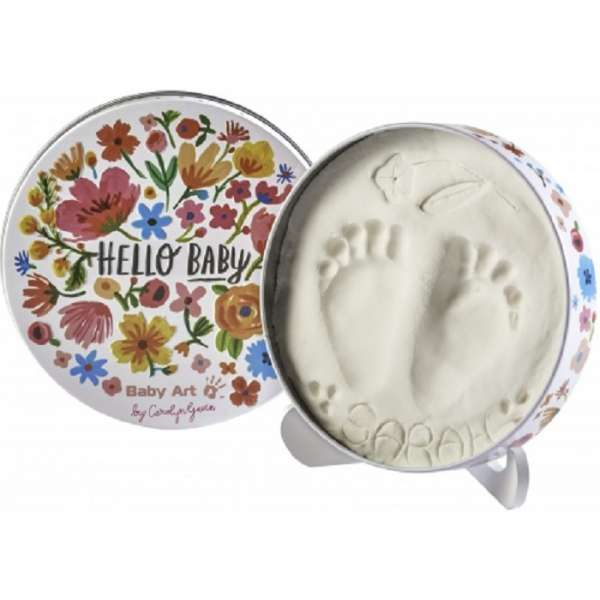 Baby Art Magic Box Carolin Flowers Komplekts mazuļa pēdiņu-rociņu nospieduma izveidošanai, 3601092200