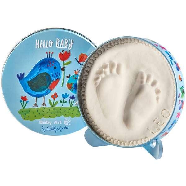 Baby Art Magic Box Carolin Birds Komplekts mazuļa pēdiņu-rociņu nospieduma izveidošanai, 3601092300