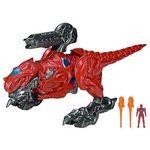 Bandai Power Ranger T-Rex Battle Zord with Red Ranger, 42555