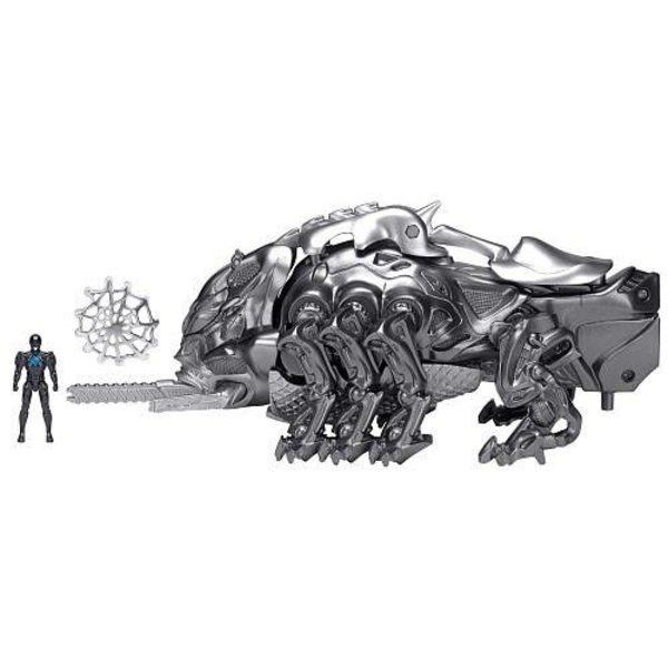 Bandai Power Ranger Mastodon Battle Zord with Black Ranger, 42560