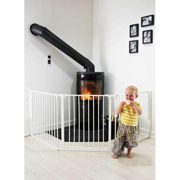 BabyDan Drošības vārtiņi Configure FLEX L, balts, 56224-10400-09