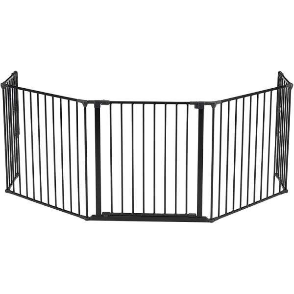BabyDan Drošības vārtiņi Configure FLEX XL Heart gate, melns, 56816-10600-09