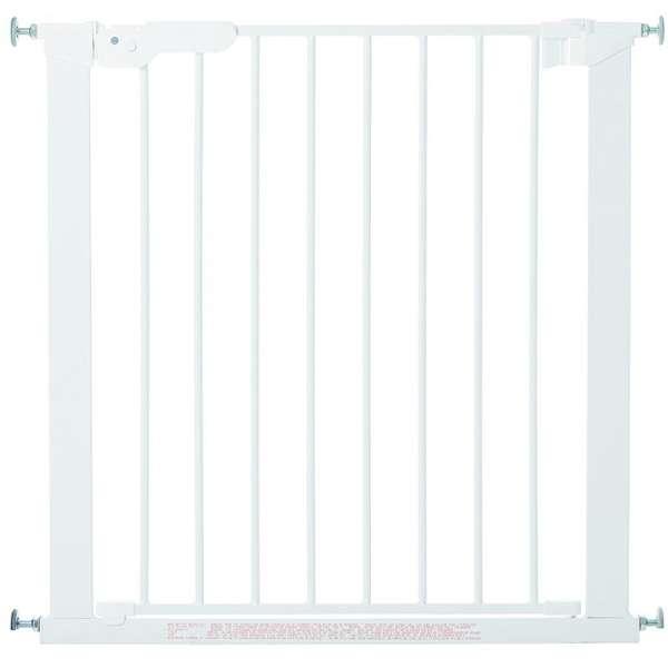 BabyDan Drošības vārtiņi Premier Indicator Gate ar 1 pagarinājumu, balts, 60114-5491-01