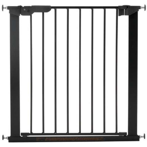 BabyDan Drošības vārtiņi Premier Indicator Gate ar 2 pagarinājumiem, melns, 60116-5692-01