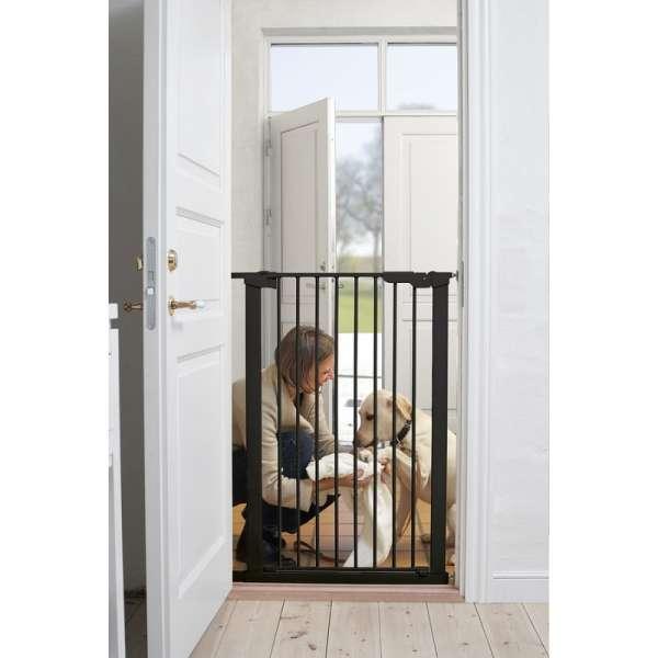 BabyDan Drošības vārtiņi dzīvniekiem Pet Premier, melns, 60116-92690-01
