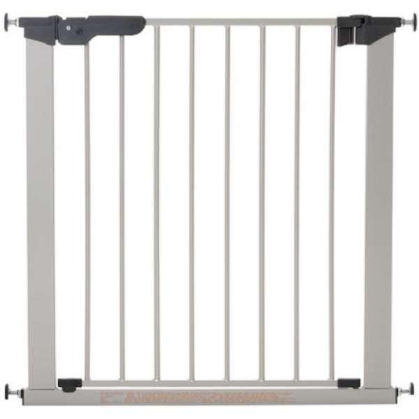 BabyDan Drošības vārtiņi Premier Indicator Gate ar 1 pagarinājumu, sudrabs, 60117-5691-01