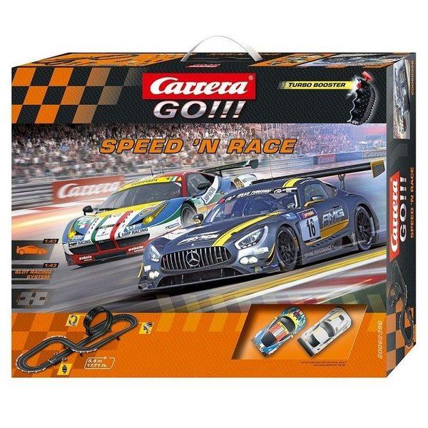 Carrera Go Trase Speed'n Race Set Mercedes VS. Ferrari, 20062396