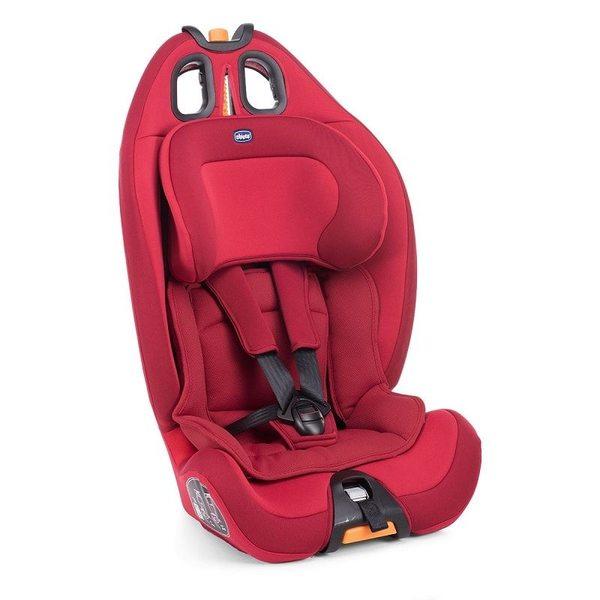 Chicco Gro-Up 123 Autokrēsls (9 - 36 kg), Red passion