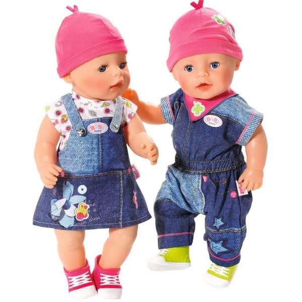 Baby Born Apģērba komplekts (Džinsu) 824498