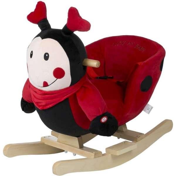 BabyGo Rocker Ladybug šūpuļkrēsls 910-4