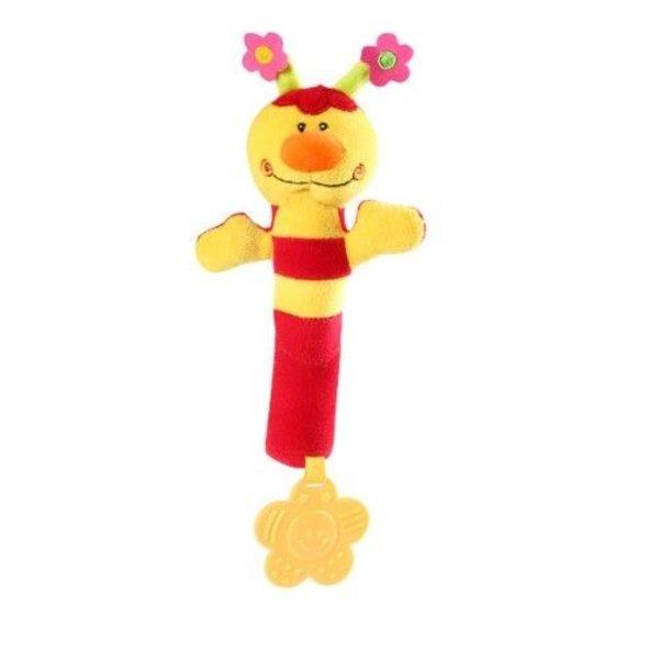 BabyOno Rotaļlieta ar pīkstuli un zobu riņķi, 993