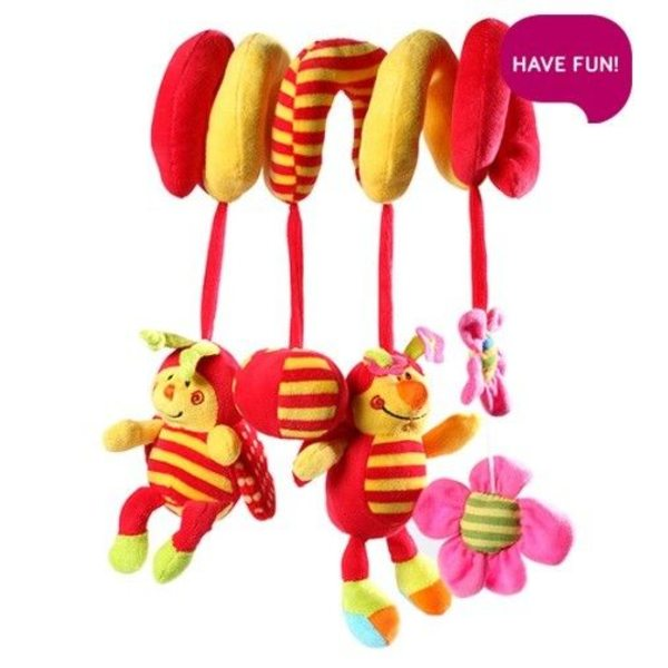 BabyOno Rotaļlieta ratiem, gultai Bugs , 999
