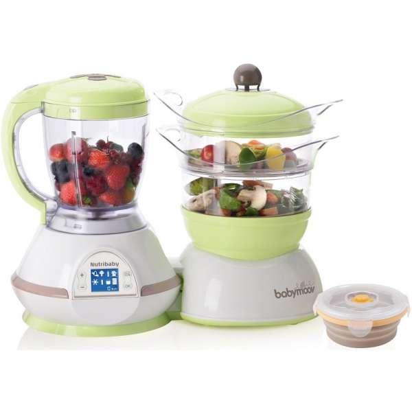 Babymoov Virtuves kombains Nutribaby Food procesor Greeb-Brown, A001100