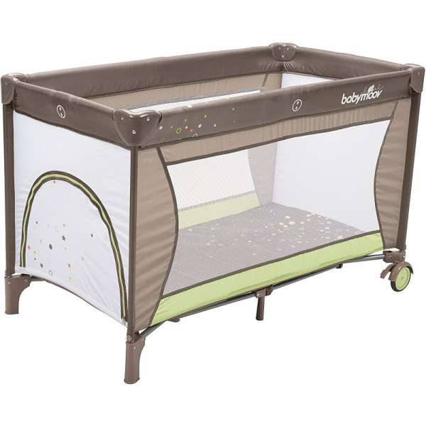 Babymoov Ceļojumu gultiņa Travel Bed Sweet Night Brown-Almond, A035020
