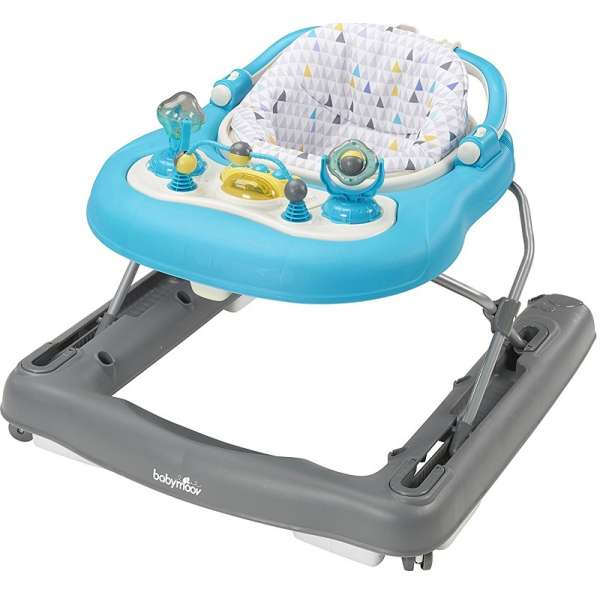 Babymoov Staigulītis Baby Walker 2 in 1 Petrole, A040007