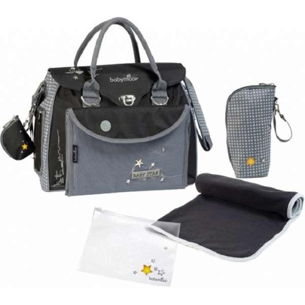 Babymoov Baby Style changing bag Star Soma māmiņām, A043511