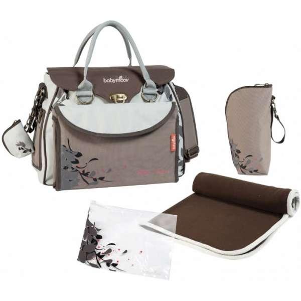 Babymoov Baby Style changing bag Natural Soma māmiņām, A043513