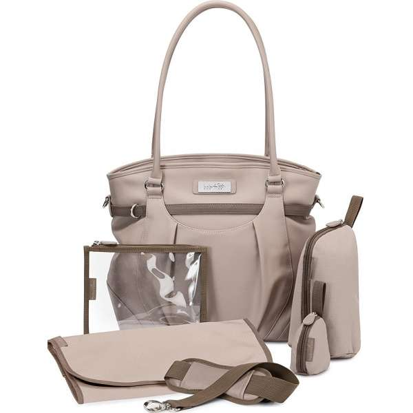 Babymoov Maternity Bag Glitter Taupe Soma māmiņām, A043571