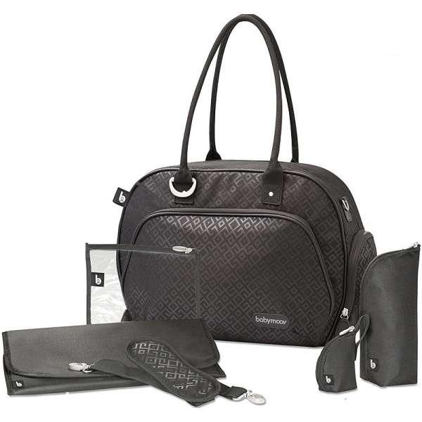 Babymoov Maternity Bag Trendy Black Soma māmiņām, A043576