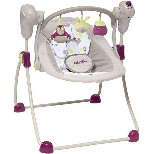 Babymoov Šūpuļkrēsls Bubble Swing Zinc, A055010