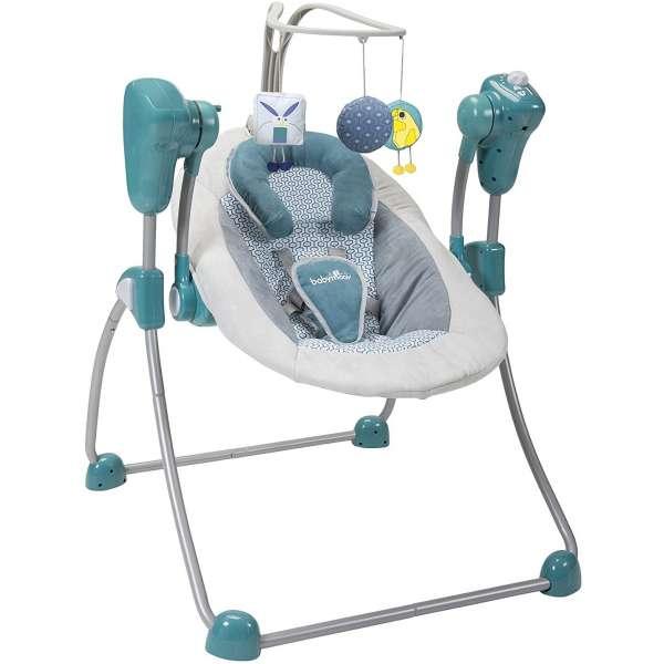 Babymoov Šūpuļkrēsls Swoon Bubble Petrol, A055011