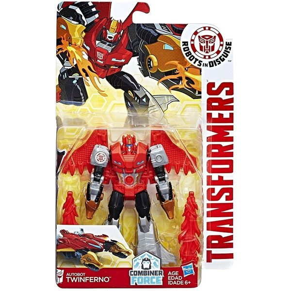 Transformers RID Warrior Class Twinferno B0070