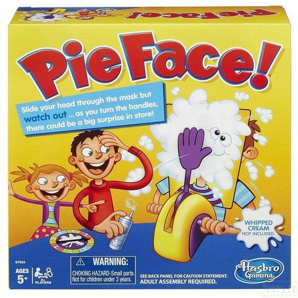 Hasbro spēle Pīrāgs sejā (Pie face), B7063