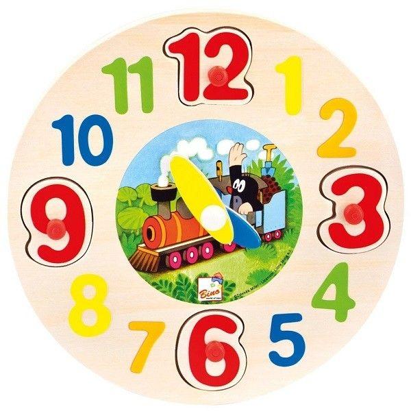 Bino Koka puzzle pulkstenis - Kurmis, 13751