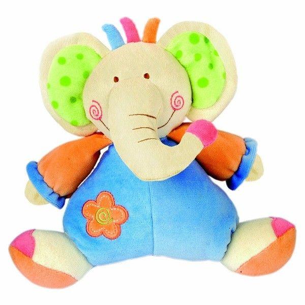 Bino Mīksta rotaļlieta Zilonis 24 cm, 86460