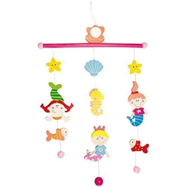 Bino Koka piekaramā rotaļlieta Mermaid, 86604