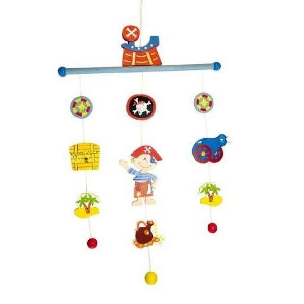 Bino Koka piekaramā rotaļlieta Pirate, 86605