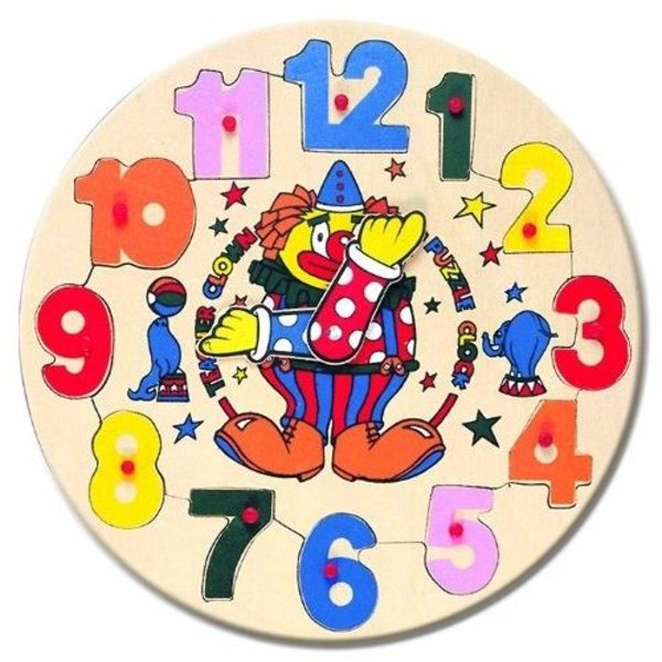 Bino Koka puzzle pulkstenis, 88061