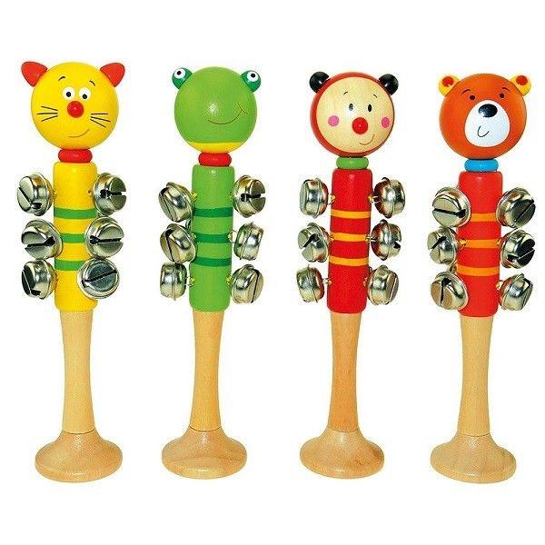 Bino Mūzikas instruments ar zvaniņiem Animals, 9086586