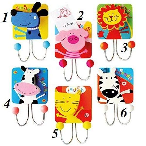 Bino Koka drēbju pakaramais Animals, 9987100