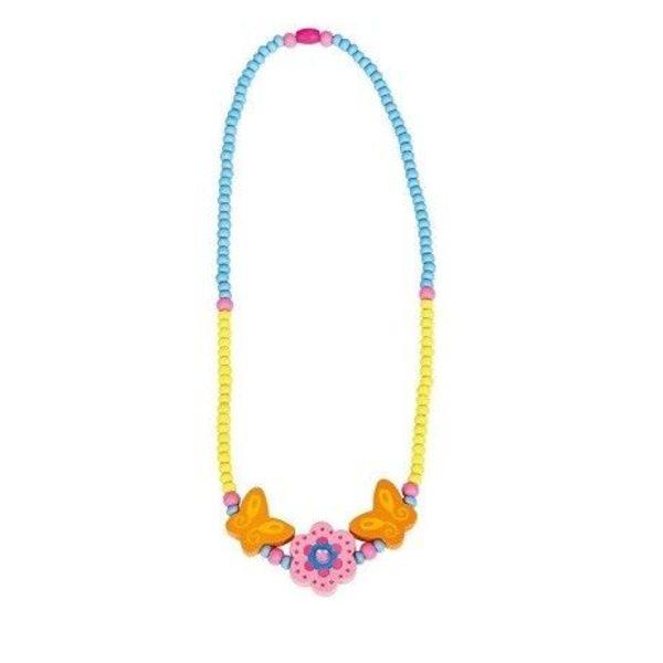 Bino Bērnu krelles Pink Flower, 9989034