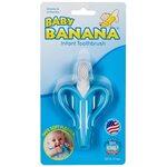 Baby Banana Toothbrush Banana Zobu birste graužamais Blue BR003B