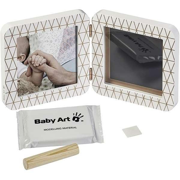 Baby Art Print Frame My baby Touch Copper Edition White Komplekts mazuļa pēdiņu-rociņu nospieduma izveidošanai 3601092400